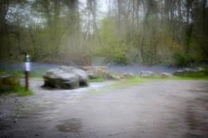 Schlechtes Wetter in Fontainebleau