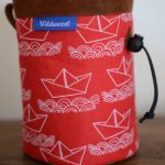 wildwexel chalkbag muster ornamente schiffe rot