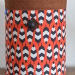 wildwexel chalkbag muster ornamente schwarz rot