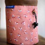 wildwexel chalkbag tiere bluemchen rosa