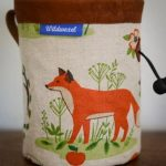 wildwexel chalkbag tiere fuchs orange