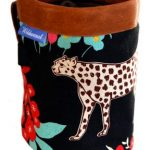 wildwexel chalkbag tiere leopard