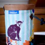 wildwexel chalkbag tiere meerkatze