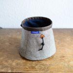 wildwexel chalkbag boulderbag graue streifen