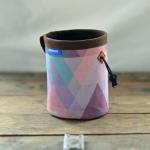 wildwexel chalkbag muster dreieck pastell