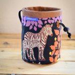 Chalkbag Zebra mit Fohlen